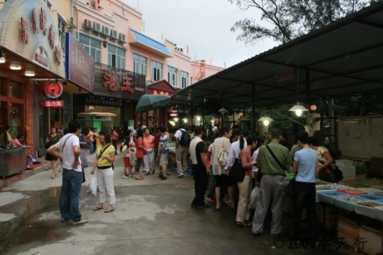 จูไห่, จีน: 珠海海鮮一條街