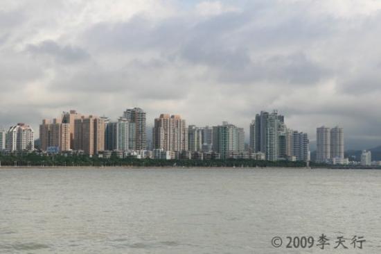 จูไห่, จีน: 珠海水岸