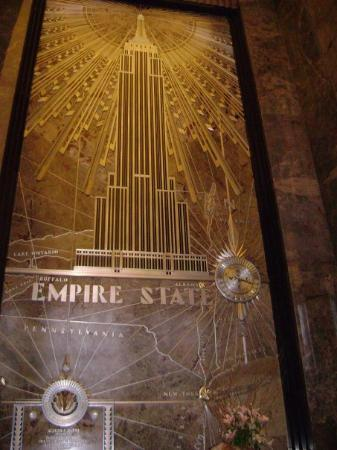 Empire State Building: As it says!
