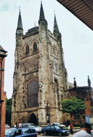 แทมเวิร์ท, UK: Tamworth, kostel sv. Edith