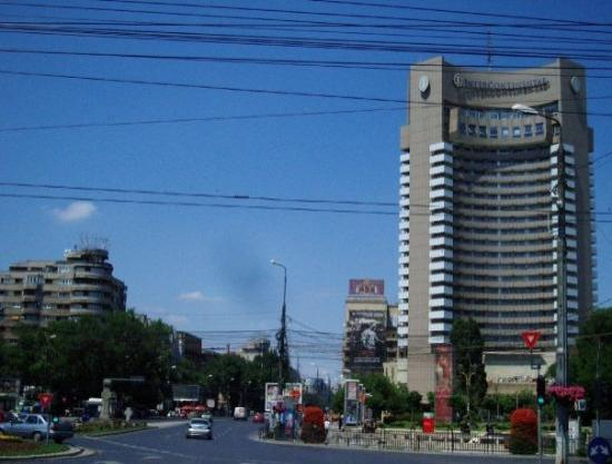 บูคาเรสต์, โรมาเนีย: The Intercontinental hotel and a part of Piata Universitate. The hart of the city and it played