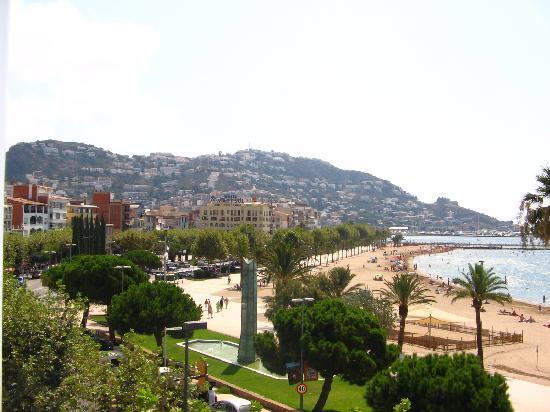 Hotel Marina: Vista del paseo
