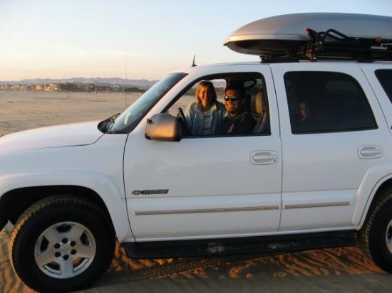 ปิสโมบีช, แคลิฟอร์เนีย: Driving on the beach