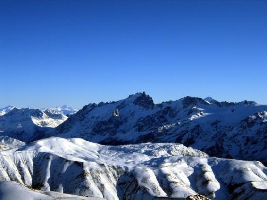 L'Alpe-d'Huez, ฝรั่งเศส: Pic Blanc Alpe d'Huez, France   December 2008