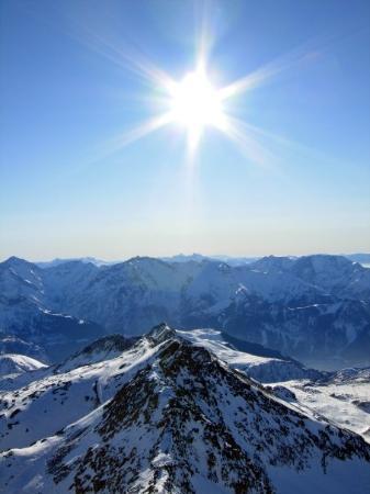 L'Alpe-d'Huez, ฝรั่งเศส: Pic Blanc Alpe d'Huez, France | December 2008
