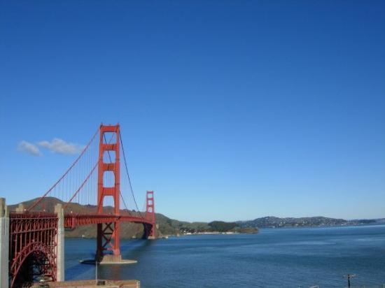 สะพานโกลเดนเกท: Golden Gate Bridge San Francisco | January 2009