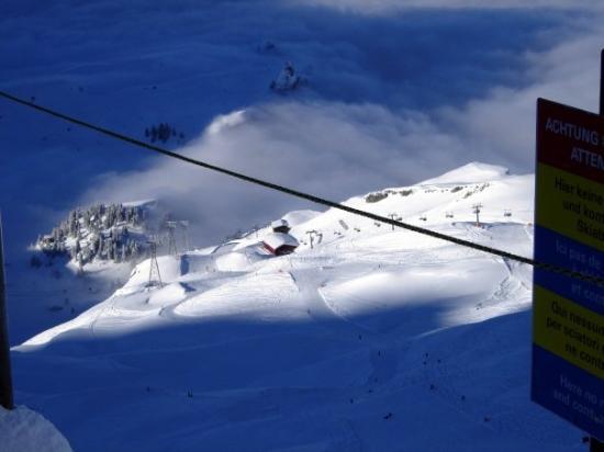 เอนเกลเบิร์ก, สวิตเซอร์แลนด์: The ski runs. Engelberg, Switzerland - Dec 2007