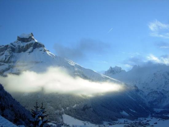 เอนเกลเบิร์ก, สวิตเซอร์แลนด์: Engelberg, Switzerland - Dec 2007