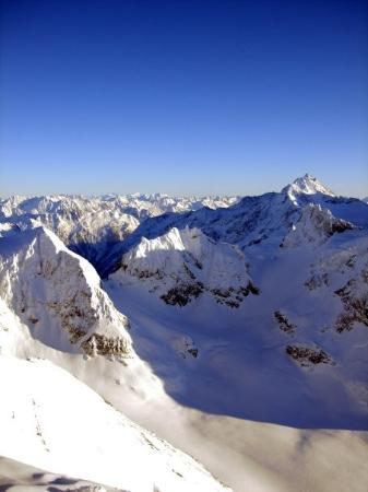 เอนเกลเบิร์ก, สวิตเซอร์แลนด์: View from the top of Mount Titlis - 3,200 metres above sea level!!!