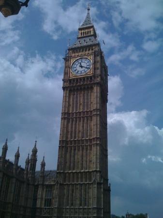 บิ๊กเบ็น: Great shot of Big Ben