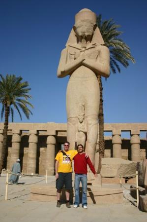 Al Karnak, อียิปต์: Mohamed and I