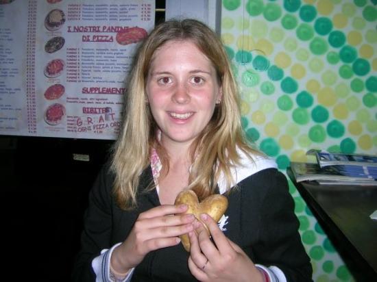 Potenza, อิตาลี: Amb un cor de patata!!!