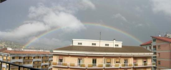 Potenza, อิตาลี: Vistes des del nostre pis... es que sempre plovia