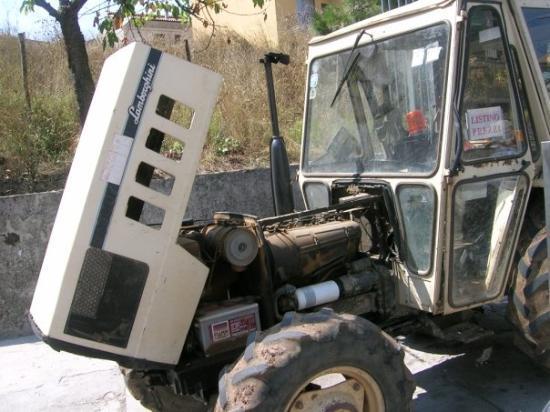 Potenza, อิตาลี: Un lamborgini!!