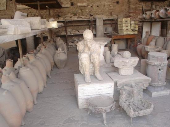Pompeii, อิตาลี: Aquest es el mulero de Pompeia