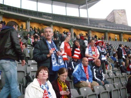 Olympiastadion Berlin: Before the match
