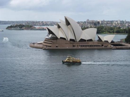 September 2008: Sydney opera house
