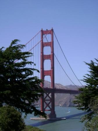 สะพานโกลเดนเกท: San Francisco, Kalifornien, USA