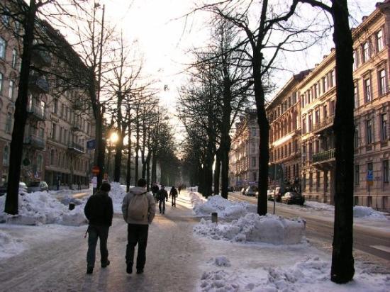 โกเธนเบิร์ก, สวีเดน: Göteborg-Handels' way