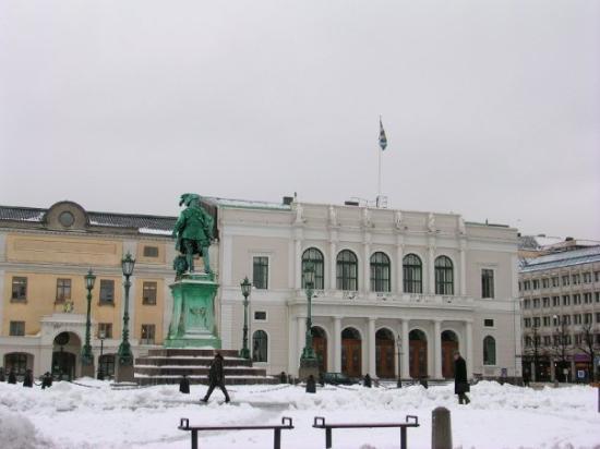 """โกเธนเบิร์ก, สวีเดน: Göteborg-""""Caballero del sombrero"""""""