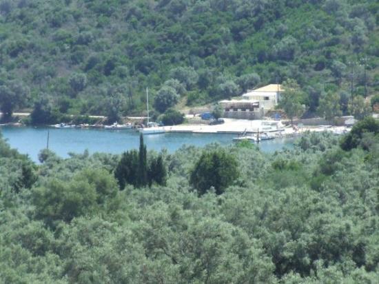 เลฟกาดา, กรีซ: the view frm hotel meganissi