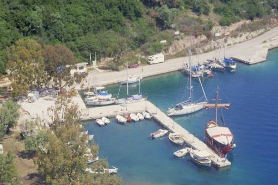 เลฟกาดา, กรีซ: the bay from spatochori