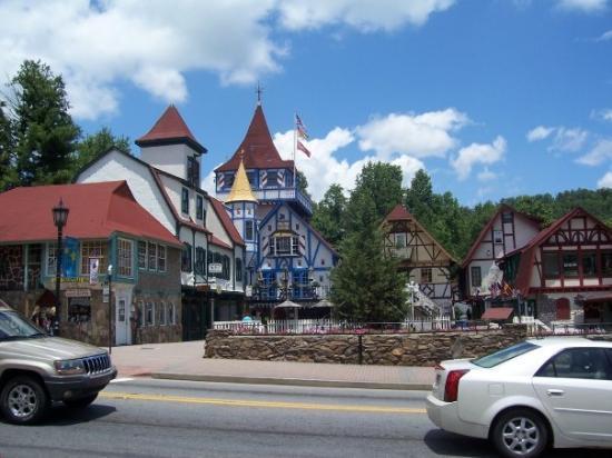 เฮเลน, จอร์เจีย: Downtown Helen, GA. Little Bavaria.