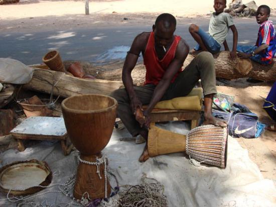 Kotu, แกมเบีย: Bakau market. 1 nov