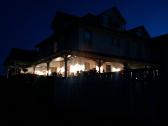 Grand Victorian at Spring Lake: The Grand Victorian at night.