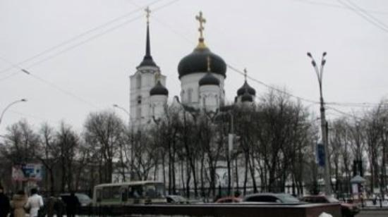 One of the churches in Voronezh