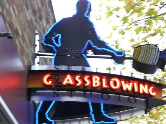 ซีแอตเทิล, วอชิงตัน: Glass Blowing!