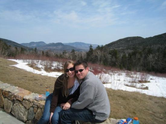 ลิงคอล์น, นิวแฮมป์เชียร์: On a picnic at the peak of the Mt.
