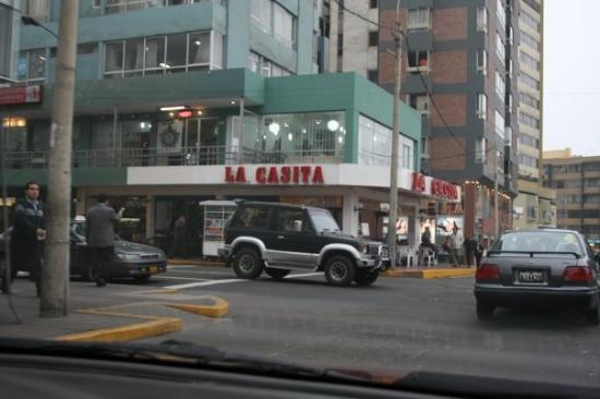 ลิมา, เปรู: a street in Lima, Peru