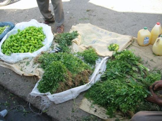 สาธารณรัฐโดมินิกัน: Vegetable Market