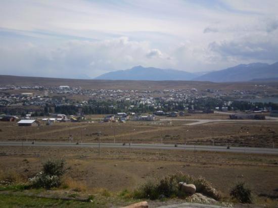 เอลคาลาเฟต, อาร์เจนตินา: Vista de El Calafate