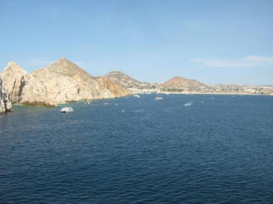 กาโบซานลูกัส, เม็กซิโก: Wonder how far I can swim?