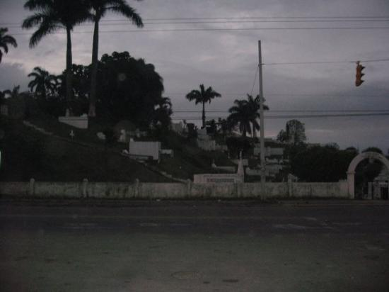 Bocas Town, ปานามา: Spooky cemetary