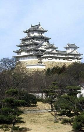 Himeji Castle: CASTILLO DE HIMEJI 姫路城 Himeji-jō  Vista panorámica