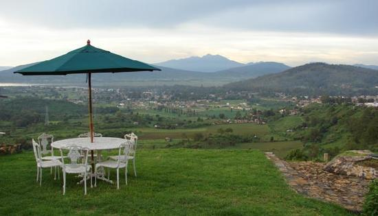 Eco-hotel Ixhi: view from the hotel´s gardens