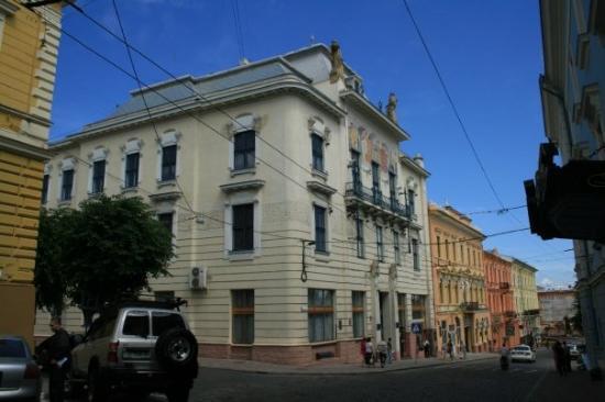 Chernivtsi, ยูเครน: Tscherniwzi [Чернівці]