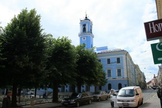 Chernivtsi, ยูเครน: Rathaus