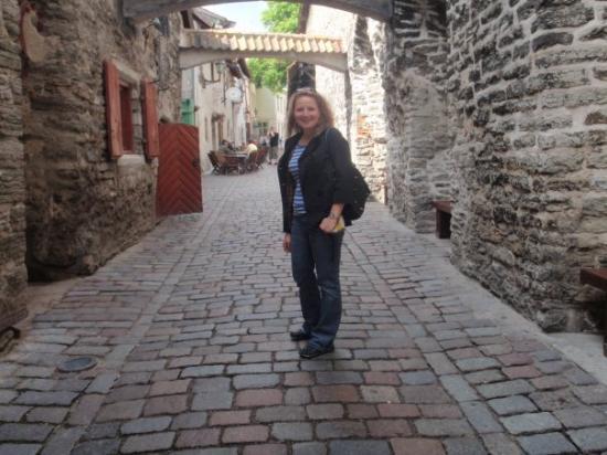 ทาลลินน์, เอสโตเนีย: Talinn's Old Street