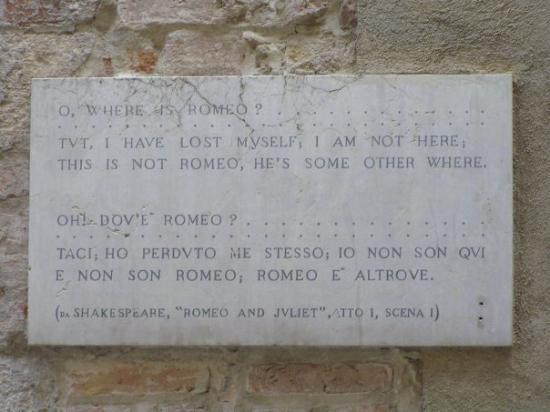 เวโรนา, อิตาลี: Romeo ja Julia