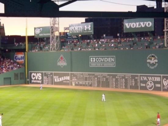 Fenway Park: The Green Monster