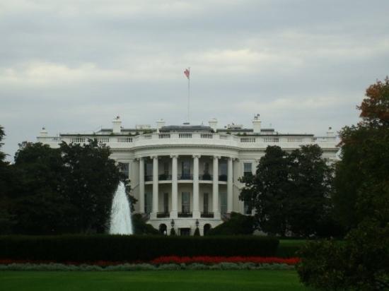White House: Baksidan av Vita Huset
