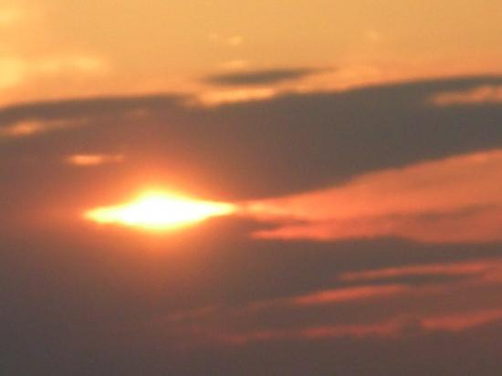 Sandy Hook, นิวเจอร์ซีย์: pretty sunset!!!