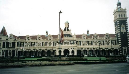 ดะนีดิน, นิวซีแลนด์: Central Train Station, Dunedin (most photographed building in NZ) n isnae open