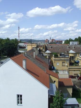 Slavonski Brod, โครเอเชีย: aerial view
