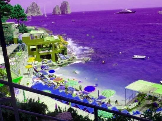 คาปรี, อิตาลี: Beaches in Capri
