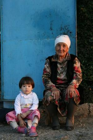Turkestan, คาซัคสถาน: family